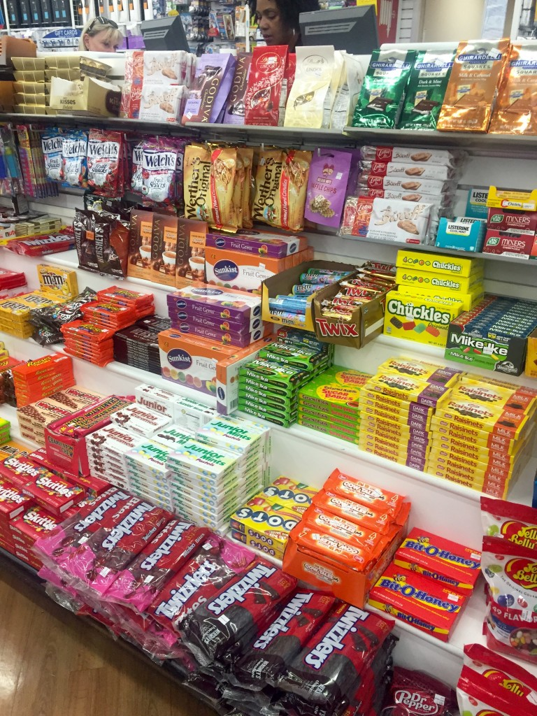 Candy at Bed Bath and Beyond