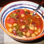 Three Bean Tuscan Soup