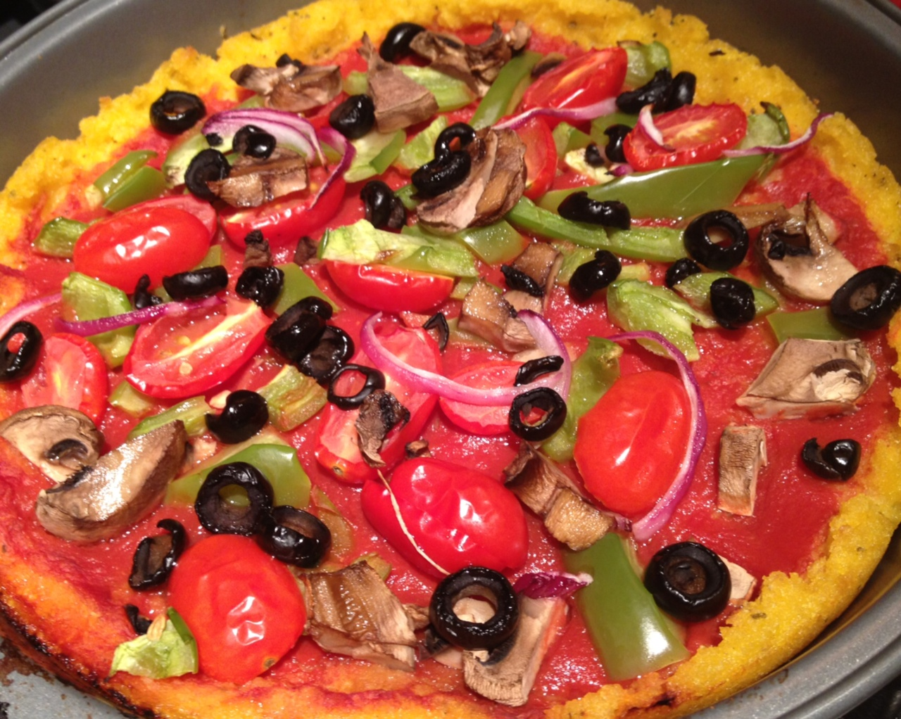 ... pizza recipe for gluten free polenta mini pizzas the perfect pantry