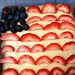Patriotic Vegan Cheesecake