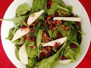 Oh So good spinach salad final
