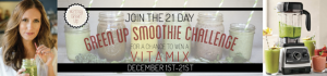 #21DayGreenUp Smoothie Challenge