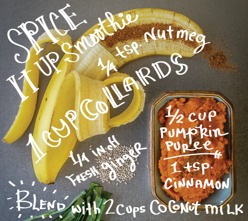 Spice It Up Smoothie