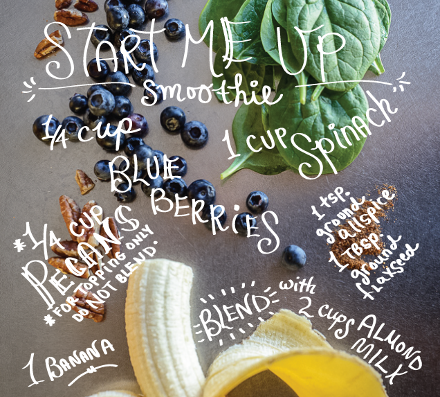 Start Me Up Smoothie recipe