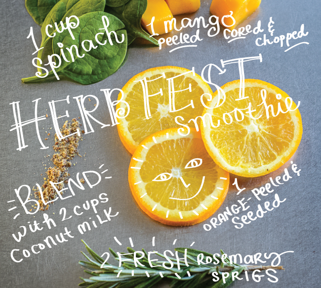Herb Fest Smoothie