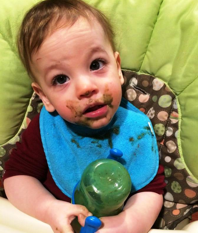 Charlie's Green Mustache