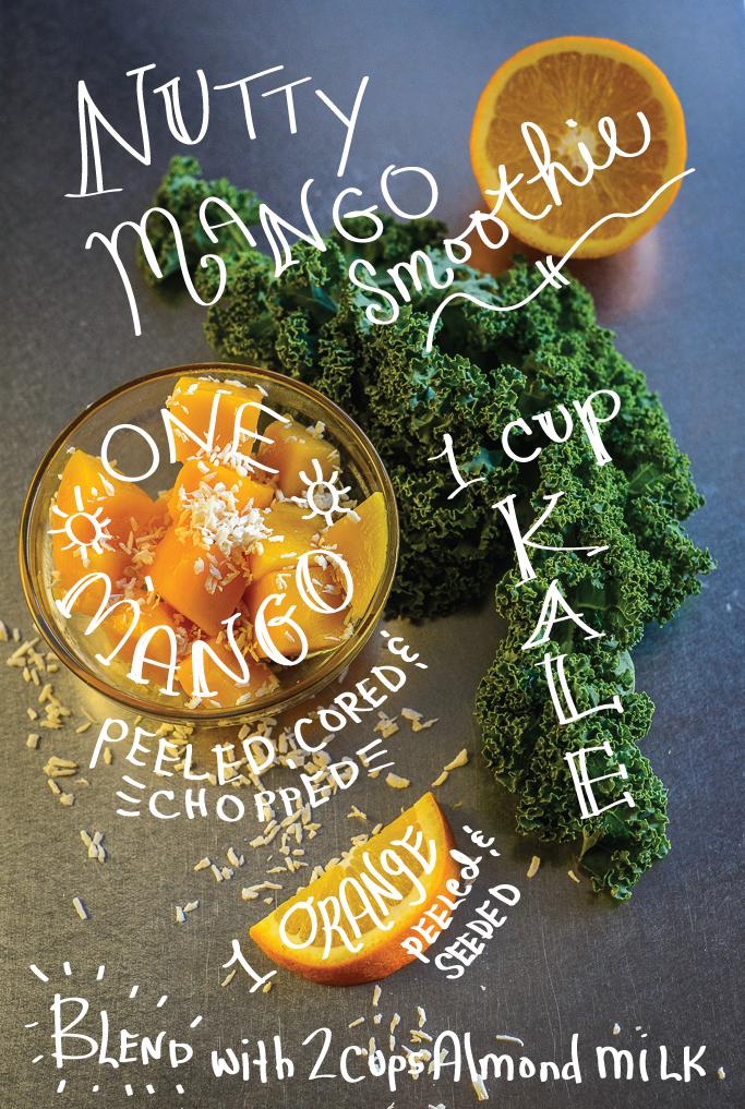 Nutty Mango Smoothie Recipe