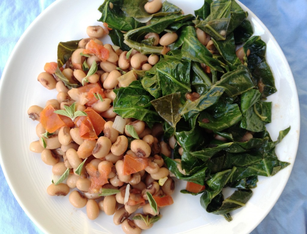 Get Lucky Beans and Greens