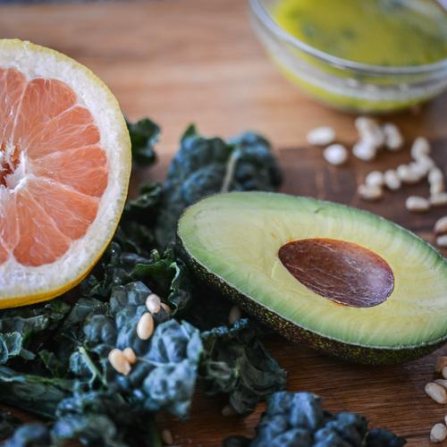 Spring Clean Salad Ingredients