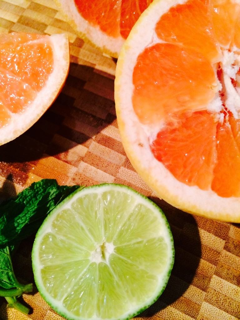 Grapefruit Mint  Juice Recipe