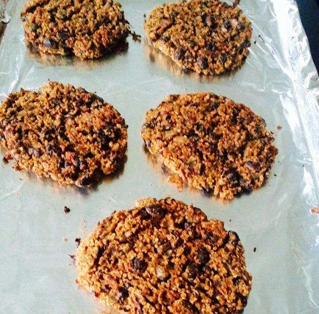 Heidi's Mushroom Burger patties
