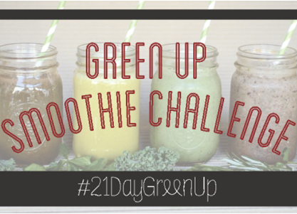 Green Up Smoothie Challenge
