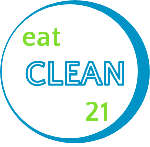 eat clean 21 badge