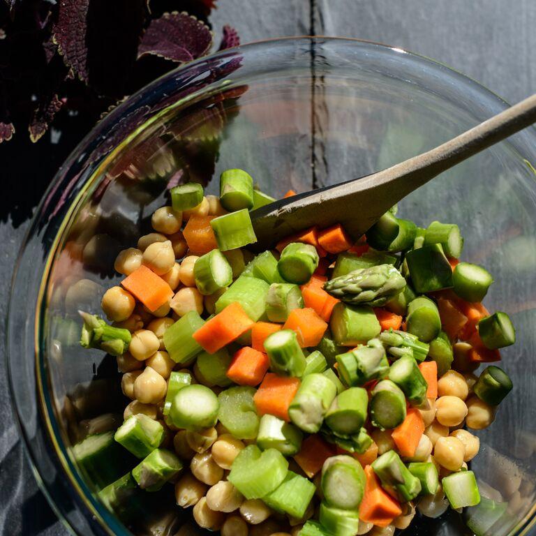 Chickpea Chop Salad