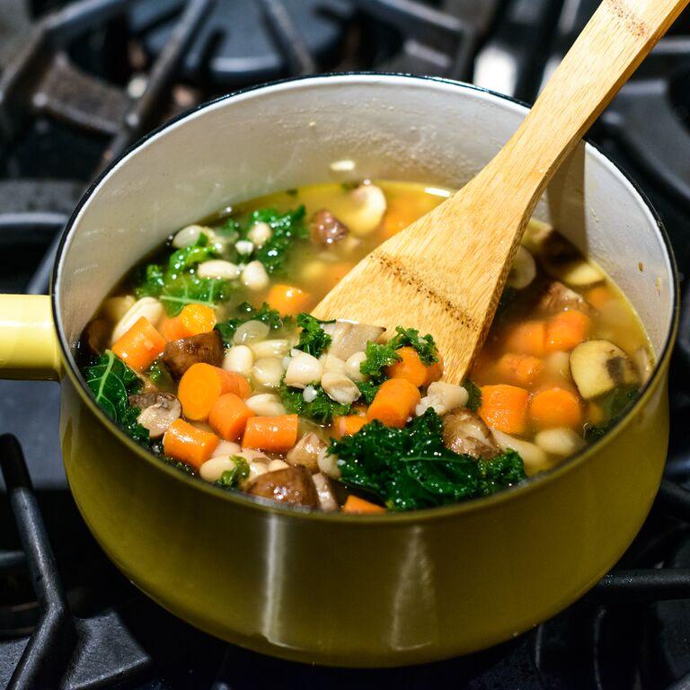 Italian Soup with Kale Recipe