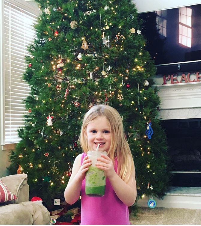 #21 Day Green  Up Smoothie Challenge