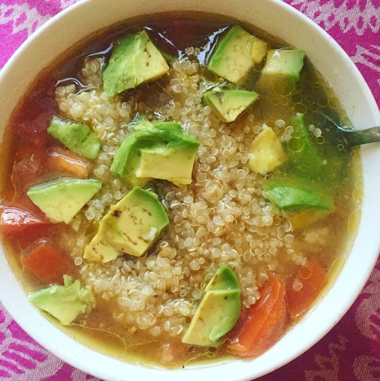 Zesty Quinoa Soup