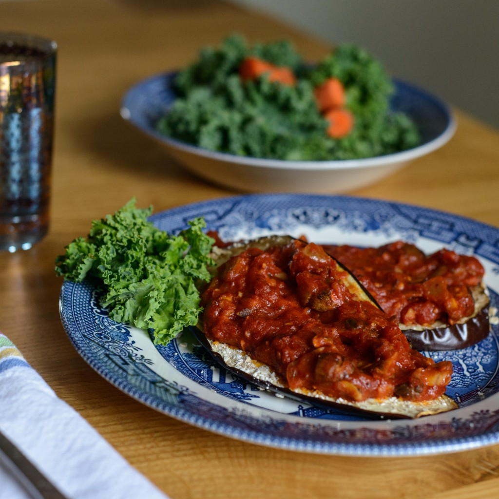 Vegan and Gluten-Free Eggplant Parmesan