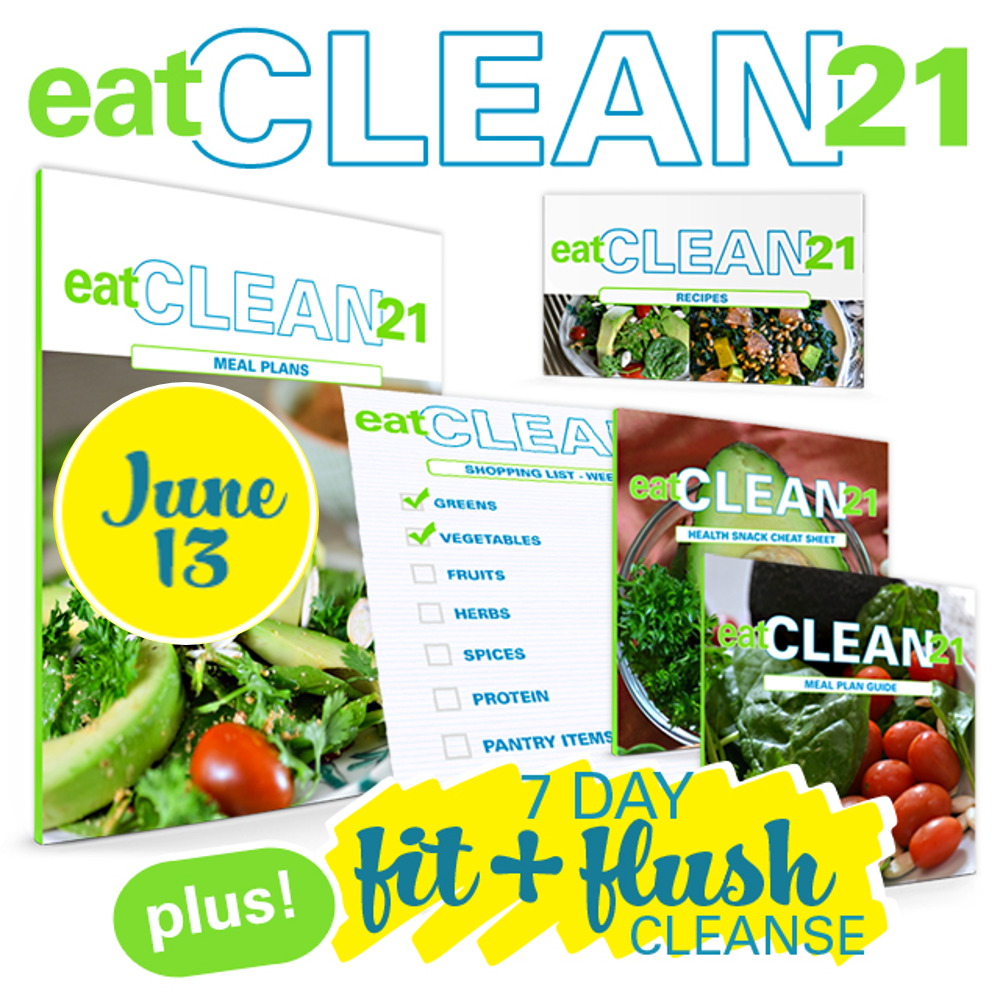 Eat Clean 21 Meal Plan Kit