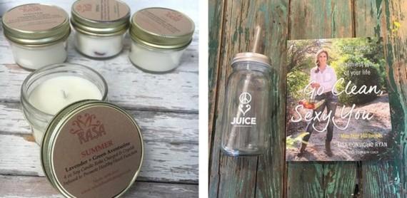 RASA Candles and Juice Mason Jar