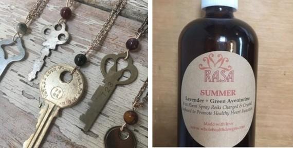 RASA Rei-keys and Room Sprays