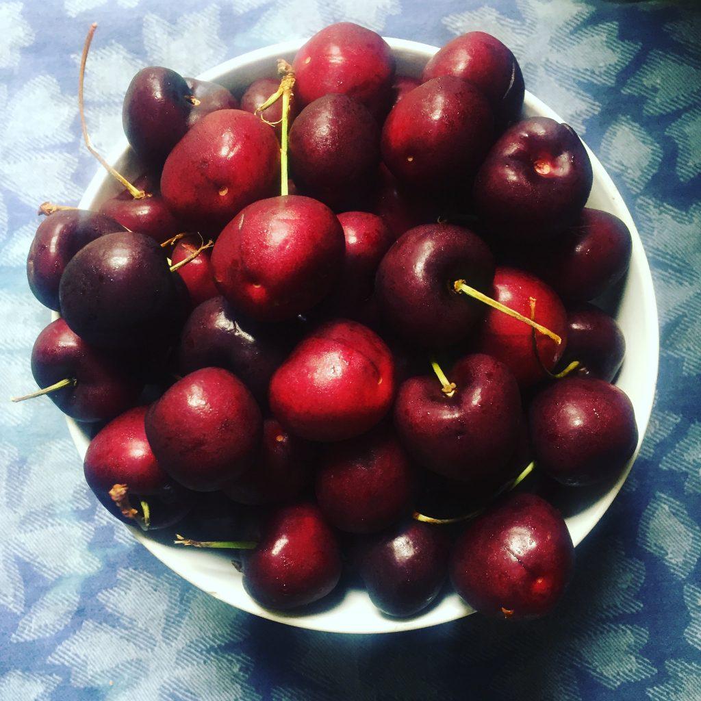 Cherry Bomb Vegan and Gluten Free Dessert