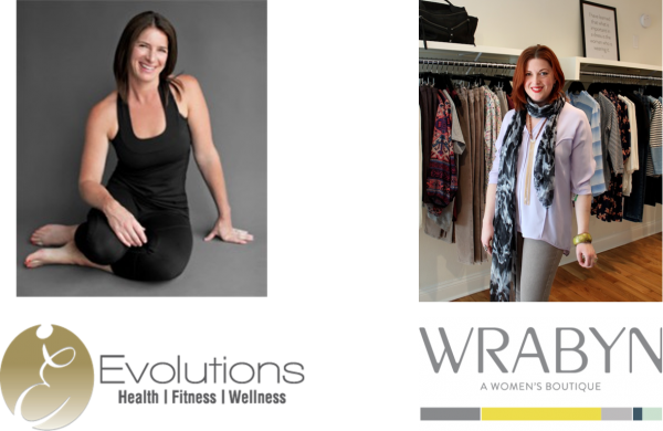 Erin Horst of Evolutions and Wendy Rabin of WRABYN