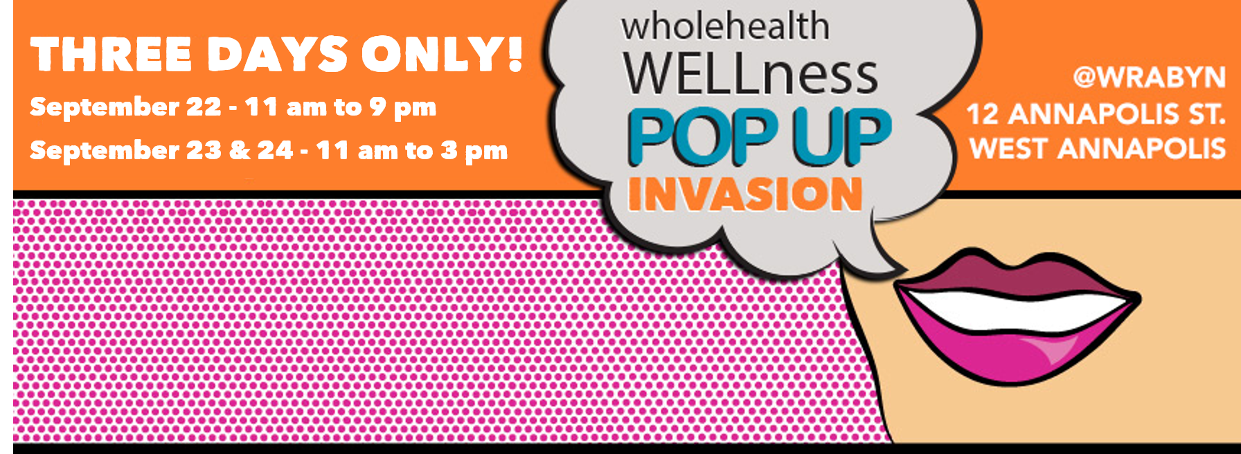 WRABYN WELLness Pop Up