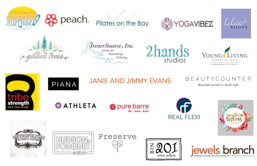 WELLness Pop Up Sponsors