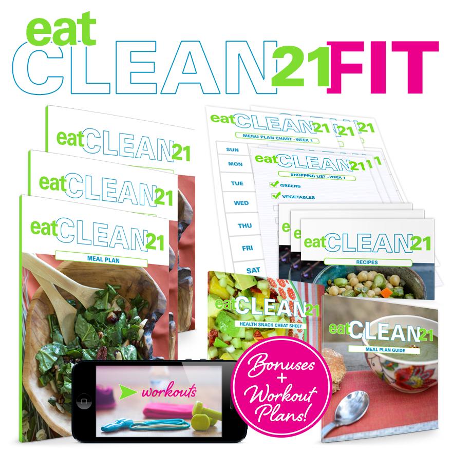 eat clean 21 badge
